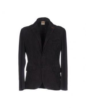 Пиджак D'AMICO. Цвет: темно-фиолетовый