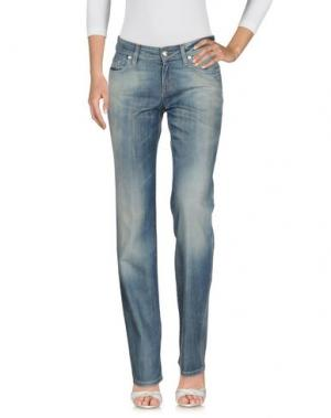 Джинсовые брюки SEVEN. Цвет: синий