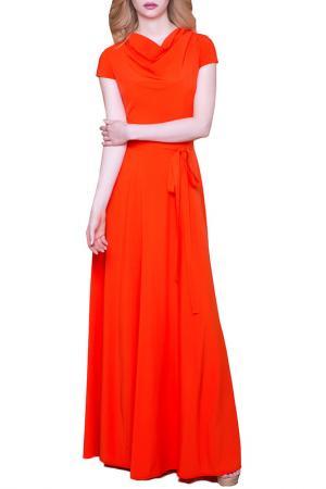 Платье MARICHUELL. Цвет: оранжевый