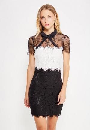 Платье Silvian Heach. Цвет: разноцветный