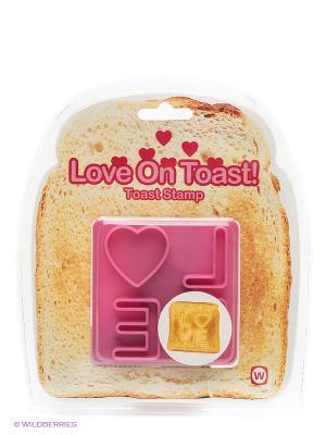 Штамп для тостов Kawaii Factory. Цвет: розовый
