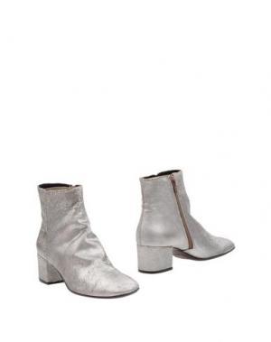 Полусапоги и высокие ботинки AGL ATTILIO GIUSTI LEOMBRUNI. Цвет: серебристый