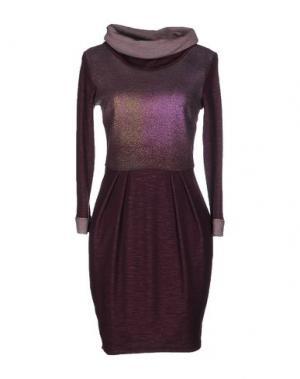 Короткое платье CRISTINAEFFE. Цвет: фиолетовый