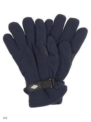 Перчатки Umbro. Цвет: темно-синий