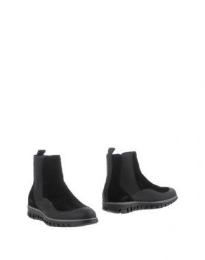Полусапоги и высокие ботинки ZERO_571. Цвет: черный