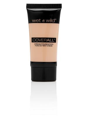 Тональный крем для лица coverall cream foundation, Тон E816 Wet n Wild. Цвет: бежевый