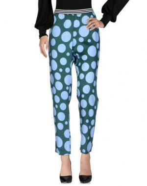 Повседневные брюки .TESSA. Цвет: темно-зеленый