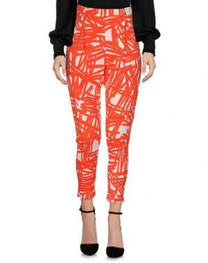 Повседневные брюки MALÌPARMI. Цвет: красный