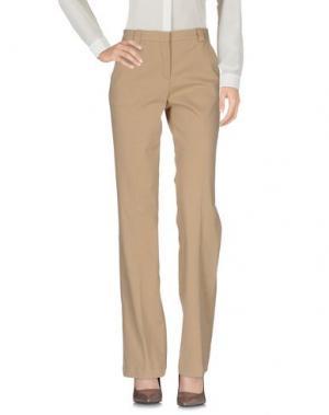 Повседневные брюки MALÌPARMI M.U.S.T.. Цвет: бежевый