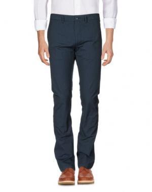 Повседневные брюки 55DSL. Цвет: темно-синий