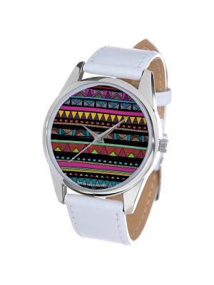 Часы Mitya Veselkov. Цвет: оранжевый, зеленый, фиолетовый