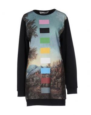 Короткое платье LULU & CO. Цвет: черный