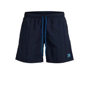 Шорты пляжные JACK AND JONES TECH. Цвет: синий,темно-синий