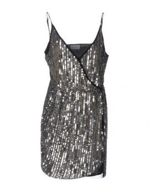 Короткое платье LA KORE. Цвет: черный
