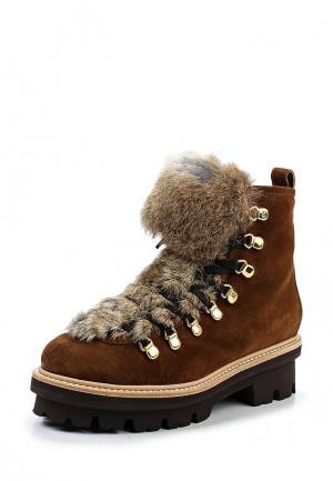 Ботинки Baldinini. Цвет: коричневый