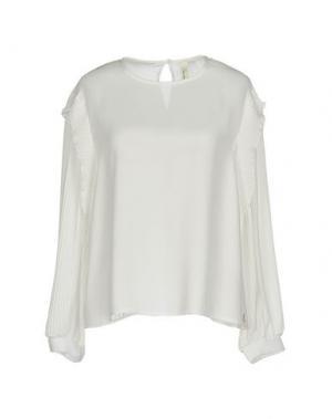 Блузка SOUVENIR. Цвет: белый