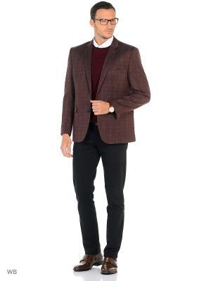 Пиджак BAZIONI. Цвет: бордовый