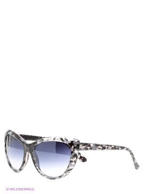 Солнцезащитные очки Vittorio Richi. Цвет: черный, синий