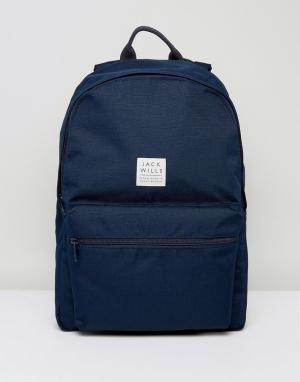Jack Wills Темно-синий рюкзак Thurso. Цвет: темно-синий