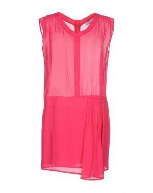 Короткое платье AXARA PARIS. Цвет: фуксия