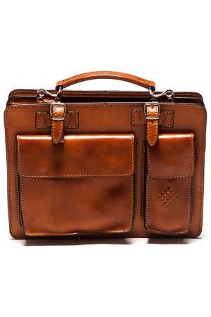 Бизнес-портфель Isabella Rhea. Цвет: коричневый