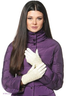 Перчатки женские Sabellino. Цвет: белый