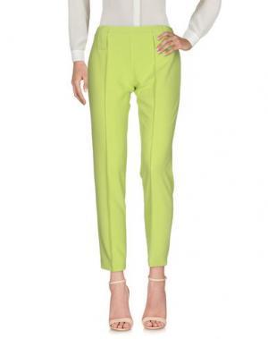 Повседневные брюки SALLY NEW YORK. Цвет: кислотно-зеленый