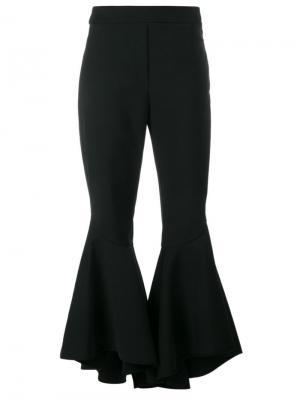 Укороченные брюки клеш Ellery. Цвет: чёрный
