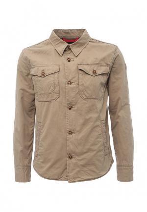 Куртка Napapijri. Цвет: бежевый