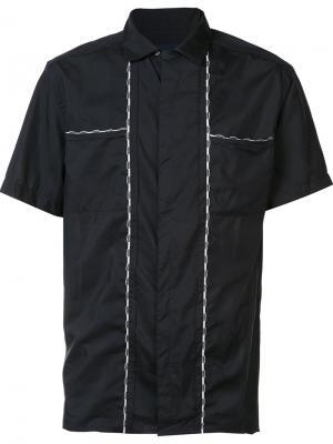 Рубашка с короткими рукавами Lanvin. Цвет: чёрный