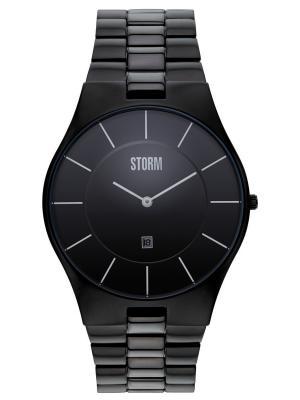Часы SLIM-XXLSLATE47159/SL Storm.. Цвет: черный