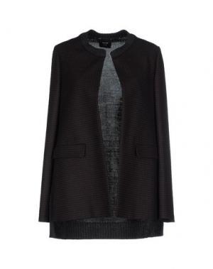 Пиджак ALYSI. Цвет: темно-коричневый