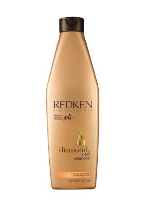 Шампунь Diamond Oil Redken. Цвет: золотой