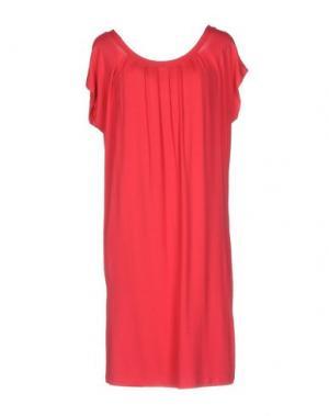 Короткое платье EMISPHERE. Цвет: красный