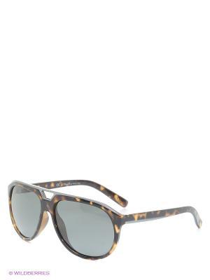 Солнцезащитные очки MS 01-232 50P Mario Rossi. Цвет: коричневый, темно-серый