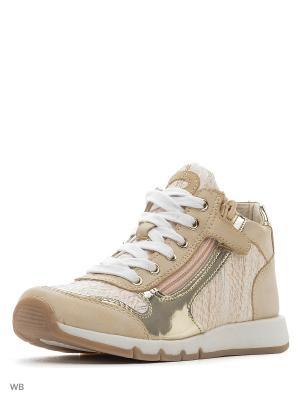Ботинки S`Cool. Цвет: золотистый