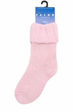Вязаные носки Falke. Цвет: розовый