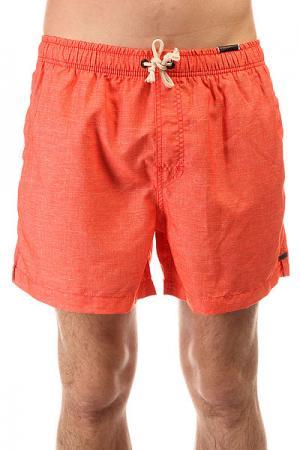 Шорты пляжные  Laze 16 Volley Red Rip Curl. Цвет: оранжевый