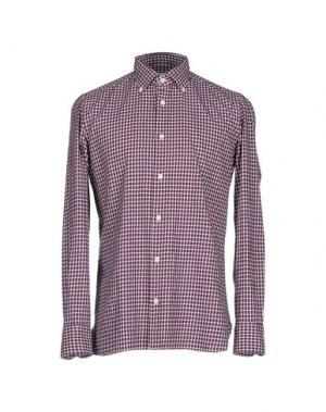 Pубашка GIAMPAOLO. Цвет: пурпурный