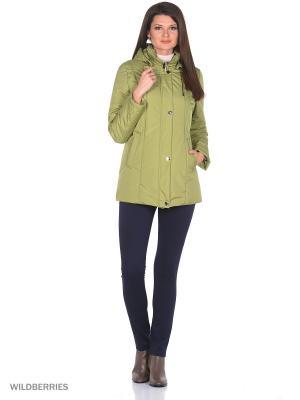 Куртка ASSI Maritta. Цвет: салатовый
