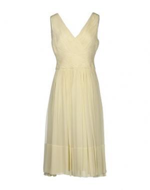 Платье длиной 3/4 LUISA BECCARIA. Цвет: слоновая кость