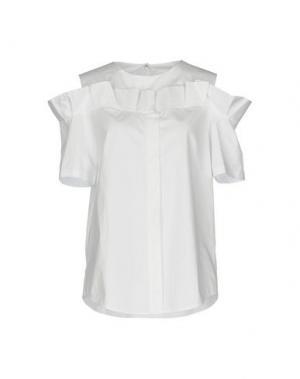 Pубашка STEVE J & YONI P. Цвет: белый