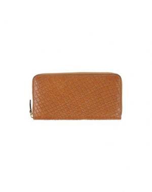 Бумажник CARMENS. Цвет: коричневый