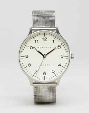 Newgate Часы с сетчатым браслетом Blip Milanese. Цвет: серебряный
