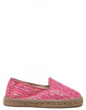 Эспадрильи Manebi. Цвет: розовый