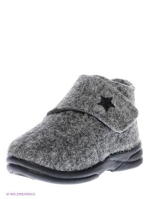 Ботинки SKIDDERS. Цвет: серый
