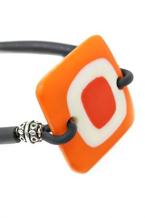 Браслет GEO Divetro. Цвет: оранжевый