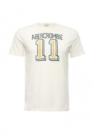Футболка Abercrombie & Fitch. Цвет: белый