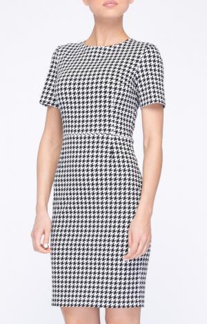 Платье Черно-Белое LYNO
