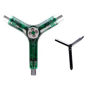 Ключ для скейтборда  Tool Clear Green Pig. Цвет: зеленый